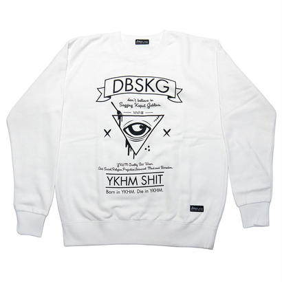 TriangleForkEye'16 Sweat WHITE