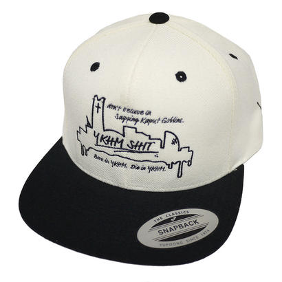 BYDY CAP WHITE/BLACK