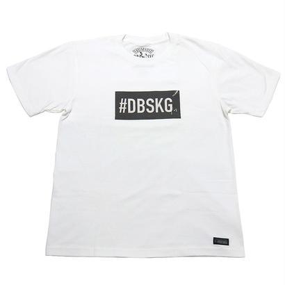 DBSKG BOXLOGO-T 2 WHITE / CHARCOAL