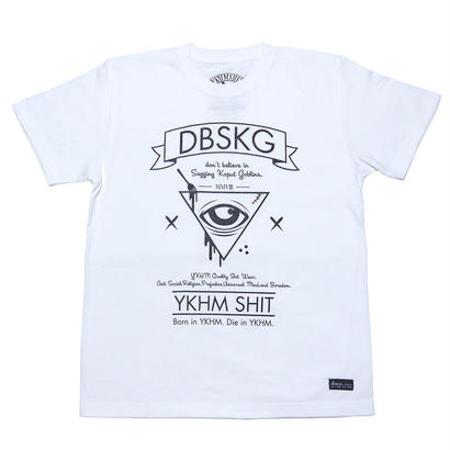 TriangleForkEye TEE WHITE