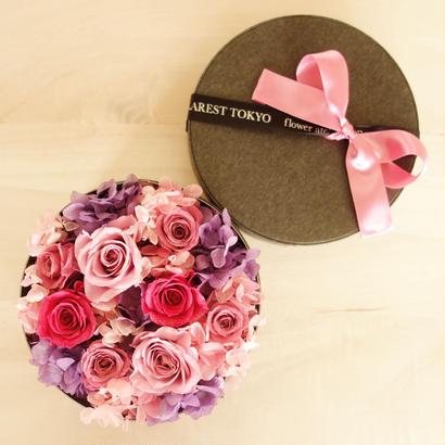 """LUXURY BOX """"Bluette des Fleurettes """"(PINK)花畑のようなフラワーボックス"""