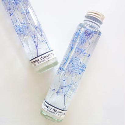 """Herbarium """"Snow Day"""" ゆらめくブルーが美しいハーバリウム"""