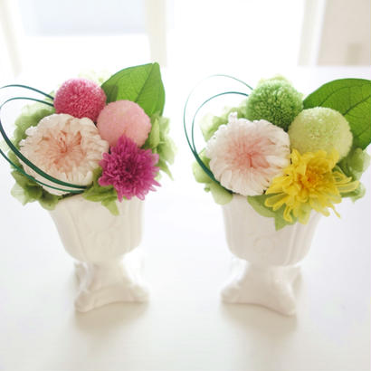 "Funeral flower  ""tsuki""  (プリザーブドフラワーの仏花)"