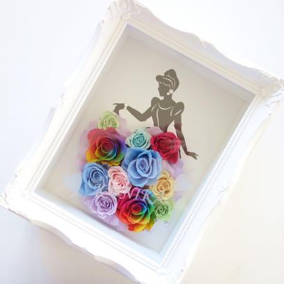 "LUXURY BOX  ""Rainbow dress"" ♡名入れギフト♡シンデレラを彩るレインボードレス"