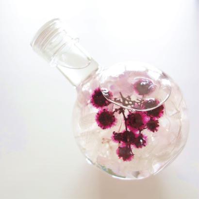 "Herbarium ""LOVE"" 恋心を隠したフラスコハーバリウム"