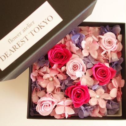 "JEWELY BOX ""beauty"" サプライズフラワーボックス"