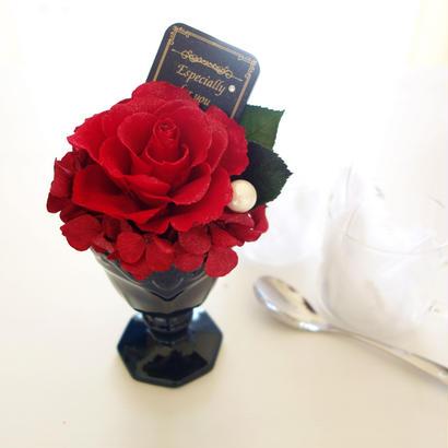"esign Flower ""parfait ROSE""  ☆当店オススメ☆洗練された大人のフラワーギフト"