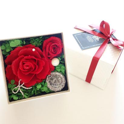"LUXURY BOX ""Beauty"" キラキラを隠した大人のサプライズボックス【フラワーボックス】【サプライズ】【誕生日】【記念日】"