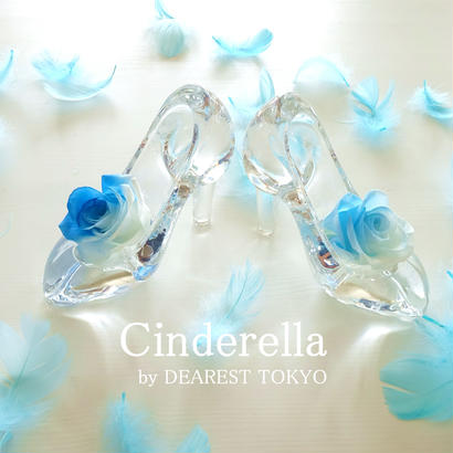 """Cinderella """"Half Blue"""" 【半分、青い。】ハーフブルーローズが彩るシンデレラのガラスの靴"""