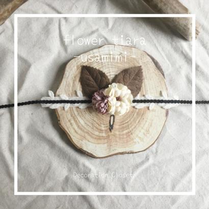 flower tiara ▷usamimi◁#05
