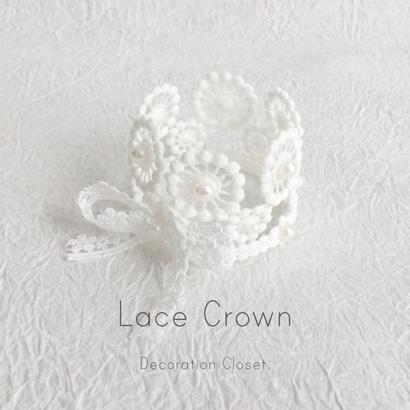 【受注販売商品】Lace Crown
