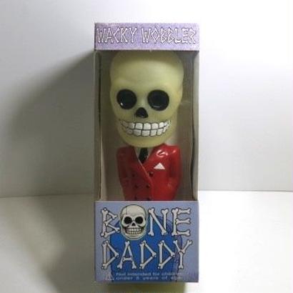 Funko -Wacky Wobbler-Bobble Head(ボビングヘッド):BONE DADDY RED SUIT