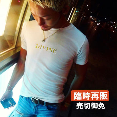 TシャツStar★D_2017ver金ラメ☆White☆