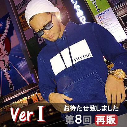 パーカーstar☆D   BOXスリースター☆インディゴデニムVer1