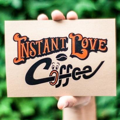 ポストカード -INSTANT LOVE COFFEE-