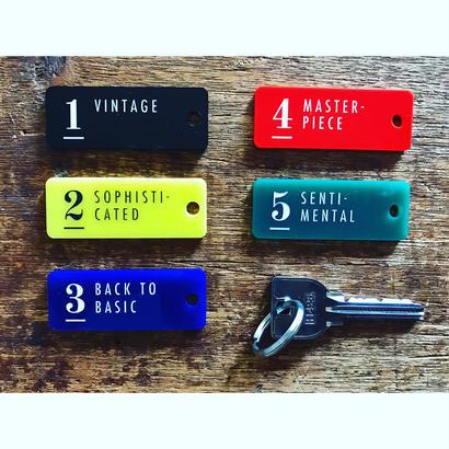 Vintage Hotel Key tag キーホルダー