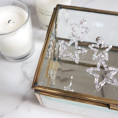 crystal star pierce
