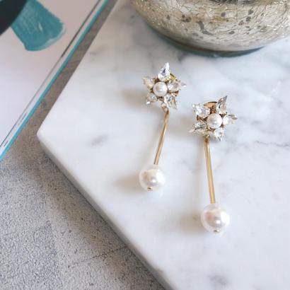 stella pearl pierce,earring