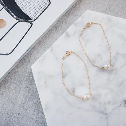 crystal pearl bracelet