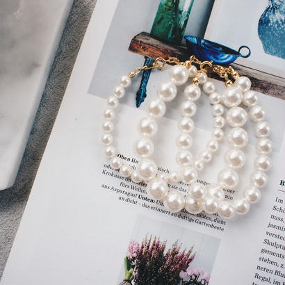 crystalpearl bracelet