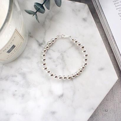 silver925 ball bracelet