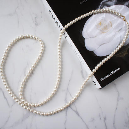 pearl long necklace(2size)