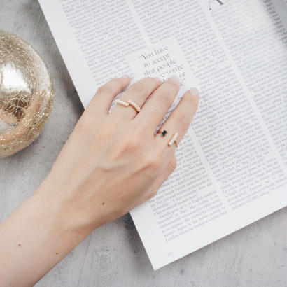 pearl design ring