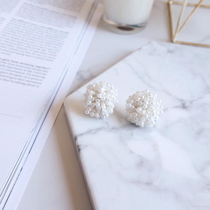 beads pearl pierce