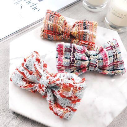 linton tweed barrette