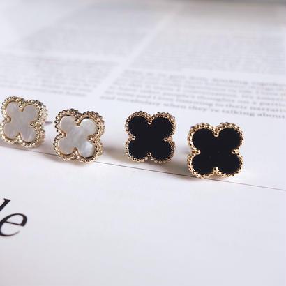 flower charm pierce,earring