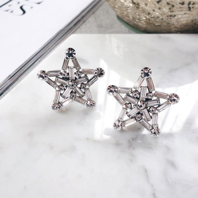star pierce,earring