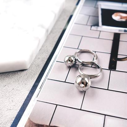metal ball ring