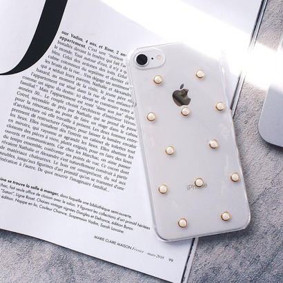 iPhone case(frame pearl)