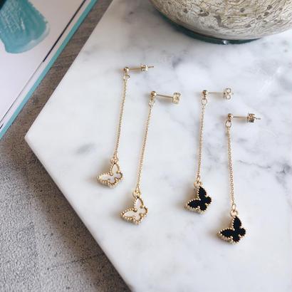 butterfly charm pierce,earring