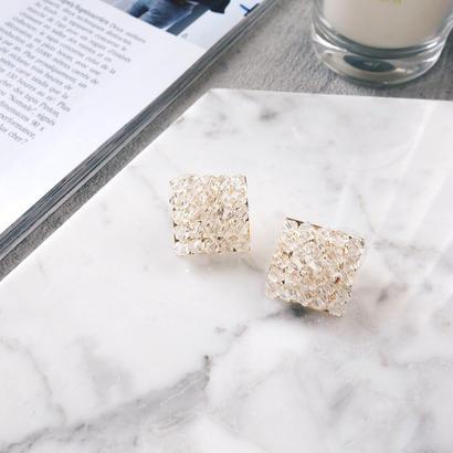 beads square pierce