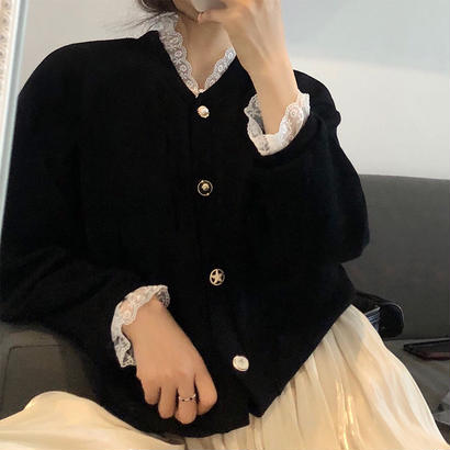 LACE with Knit Tops