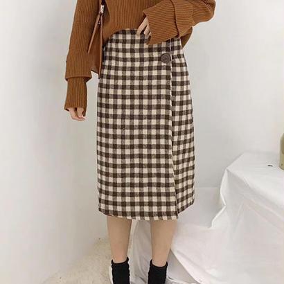 チェック ギンガム Skirt