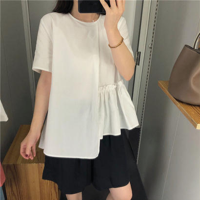 Frill Side T