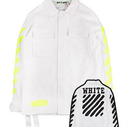 新品 数量限定  【オフホワイト OFF-WHITE】超高品質 ジャケット アウター シャツ メンズファッション [OW-426]
