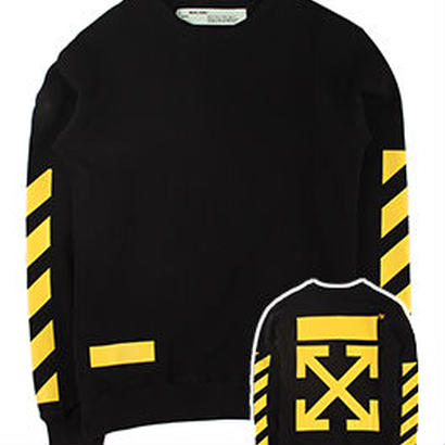 新品 数量限定  【オフホワイト OFF-WHITE】  Tシャツ 長袖 トレーナー メンズ レディース ファッション 通販 [OW-477]