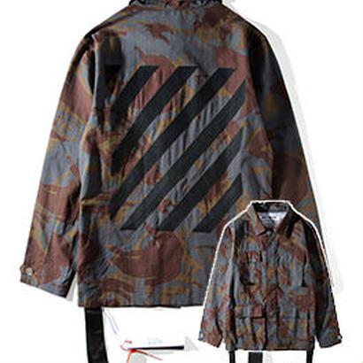 新品 数量限定  【オフホワイト OFF-WHITE】超高品質 ジャケット アウター シャツ メンズファッション [OW-451]