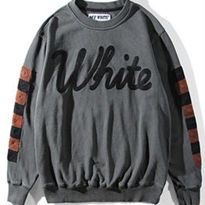 新品 数量限定  【オフホワイト OFF-WHITE】高品質 スウェット  Tシャツ 長袖 スウェット メンズ レディース ファッション 通販 [OW-431]