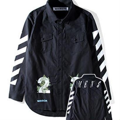 新品 数量限定  【オフホワイト OFF-WHITE】超高品質 ジャケット アウター シャツ メンズファッション [OW-452]