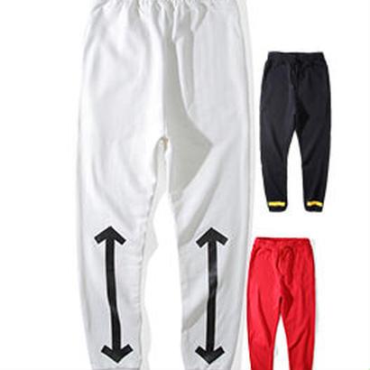 新品 数量限定  【オフホワイト OFF-WHITE】超高品質 限定品 激安 メンズ レディース ファッション 通販 中綿 秋冬 スウェット パンツ メンズファッション カジュアル [OW-284]