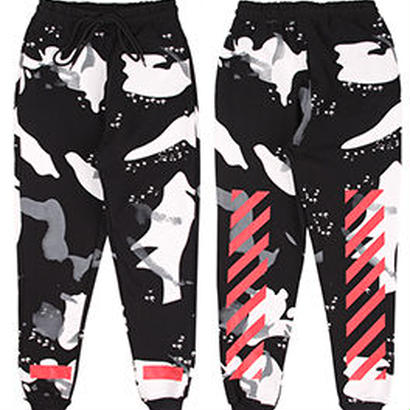 新品 数量限定  【オフホワイト OFF-WHITE】高品質 激安 メンズ レディース ファッション 通販 スウェット パンツ [OW-453]