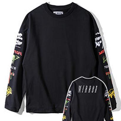 新品 数量限定  【オフホワイト OFF-WHITE】超高品質 スウェット  Tシャツ 長袖 スウェット メンズ レディース ファッション 通販 [OW-438]