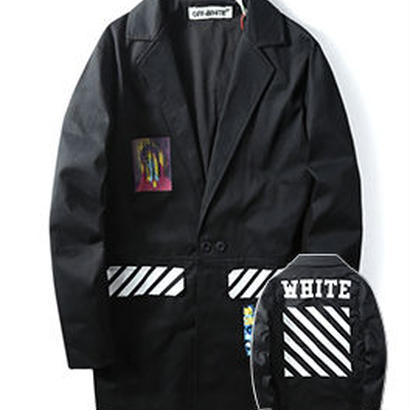 新品 数量限定  【オフホワイト OFF-WHITE】超高品質 限定品 激安 メンズ レディース ファッション 通販 ジャケット アウター コート コーディネート 流行り カジュアル [OW-263]