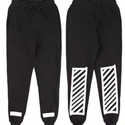 新品 数量限定  【オフホワイト OFF-WHITE】高品質 激安 メンズ レディース ファッション 通販 スウェット パンツ [OW-458]