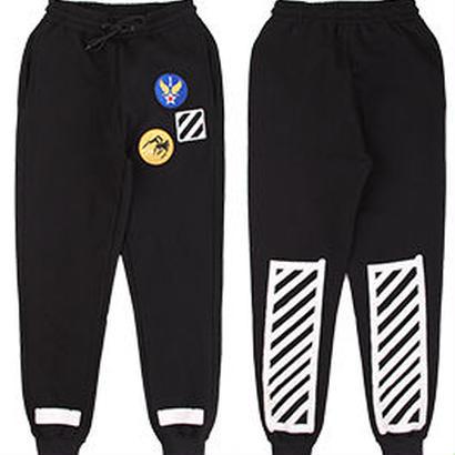 新品 数量限定  【オフホワイト OFF-WHITE】高品質 激安 メンズ レディース ファッション 通販 スウェット パンツ [OW-454]
