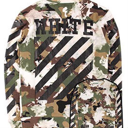 新品 数量限定  【オフホワイト OFF-WHITE】  Tシャツ 長袖 トレーナー メンズ レディース ファッション 通販 [OW-476]